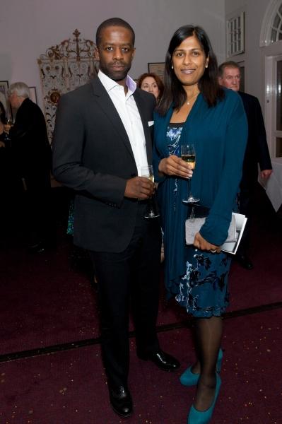 Adrian Lester and Lorita Chakrabati Photo
