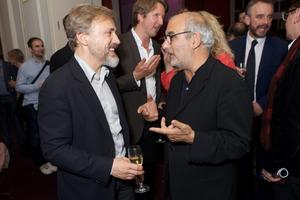 Christoph Waltz and Alan Yentob