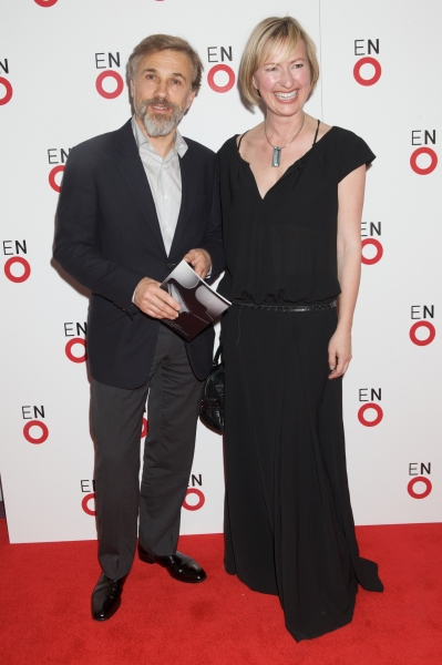 Christoph Waltz and Henriette Goetz