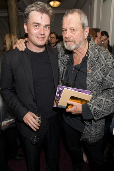 Edward Gardner and Terry Gilliam