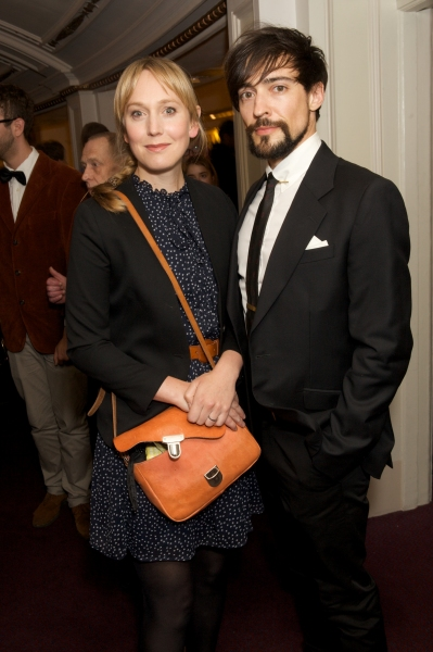 Hattie Morahan and Blake Ritson