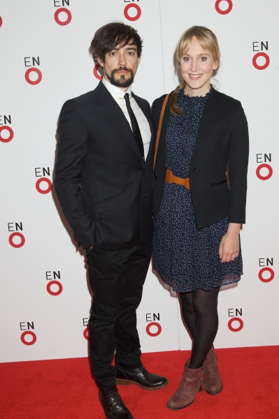 Blake Ritson and Hattie Morahan