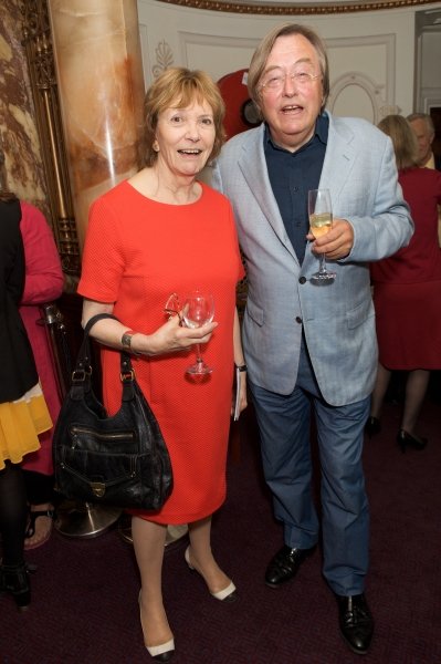 Joan Bakewell and David Mellor
