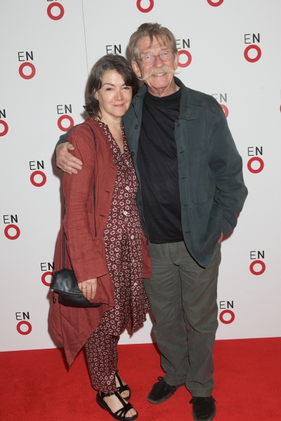 Anwen Rees-Myers and John Hurt
