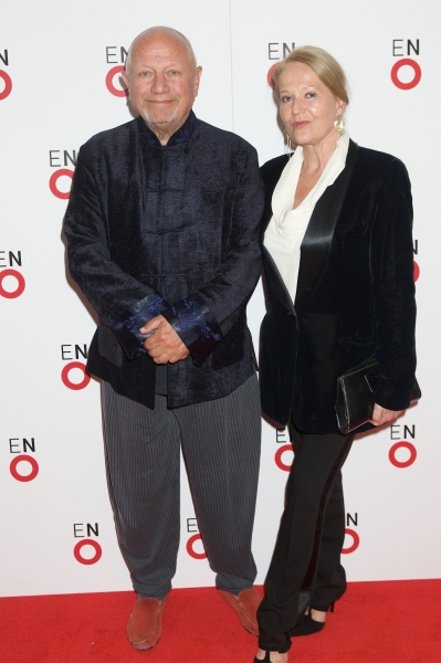 Steven Berkoff and Partner Photo
