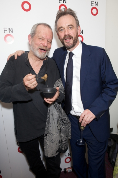 Terry Gilliam and John Berry Photo