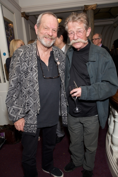 Terry Gilliam and John Hurt