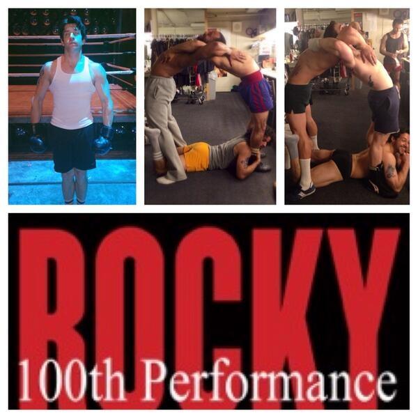 Photo Flash: Saturday Intermission Pics, 6/7- BULLETS Preps for the Tonys, ROCKY Celebrates 100th, and More!