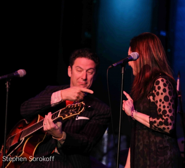 Photo Coverage: Jessica Molaskey and John Pizzarelli at HELSINKI ON BROADWAY