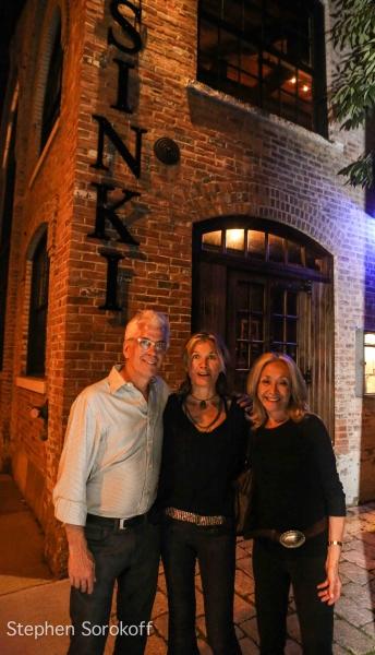 Steve Bakunas, Deborah McDowell, Eda Sorokoff Photo