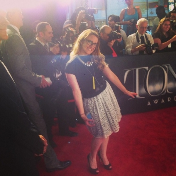 Photo Flash: Stars Take to Social Media and Cover the Tonys On Their Own