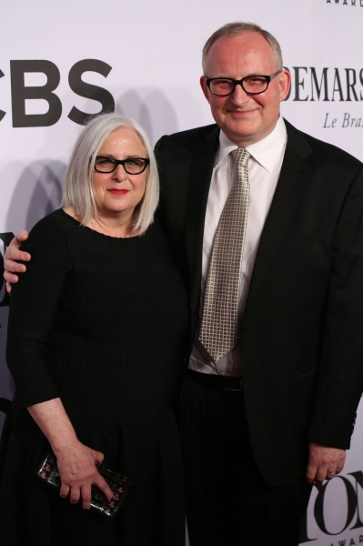 Joan Marcus and husband Adrian Bryan Brown