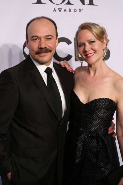 Danny Burstein and wife Rebecca Luker