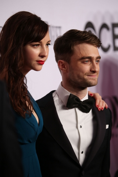 Daniel Radcliffe and Erin Darke