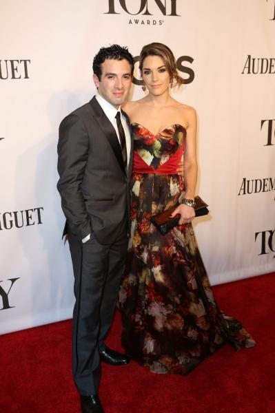 Jarrod Spector and fiancé Kelly Barrett
