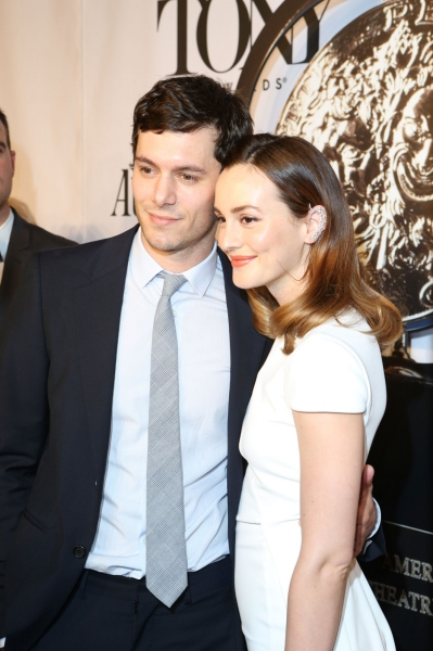 Adam Brody and Leighton Meester Photo