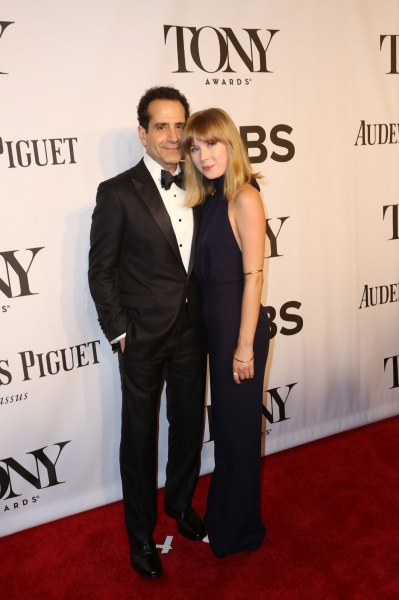 Tony Shaloub and Brooke Adams