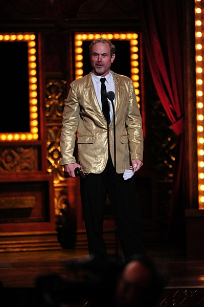 THE 68TH ANNUAL TONY AWARDS, broadcast live from Radio City Music Hall, Sunday, June 8 (8:00-11:00 PM, live ET/ delayed PT) on the CBS Television Network. Golden Globe and Tony Award-winning actor Hugh Jackman hosts. Pictured: winner Best Lighting Design