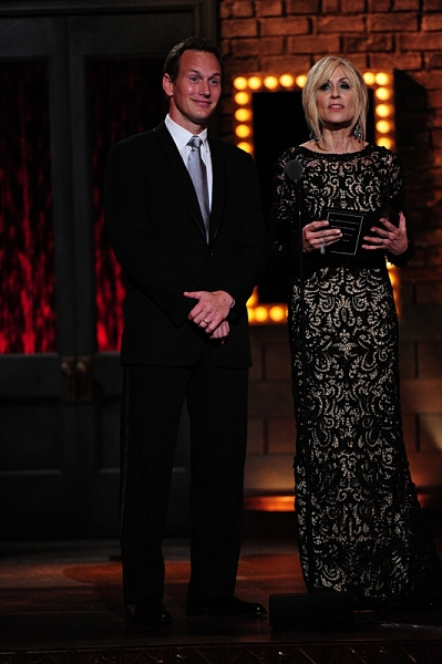 THE 68TH ANNUAL TONY AWARDS, broadcast live from Radio City Music Hall, Sunday, June 8 (8:00-11:00 PM, live ET/ delayed PT) on the CBS Television Network. Golden Globe and Tony Award-winning actor Hugh Jackman hosts. Pictured L-R: Patrick Wilson and Judit