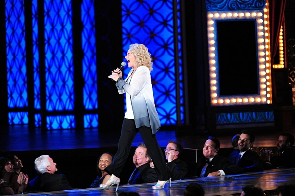 THE 68TH ANNUAL TONY AWARDS, broadcast live from Radio City Music Hall, Sunday, June 8 (8:00-11:00 PM, live ET/ delayed PT) on the CBS Television Network. Golden Globe and Tony Award-winning actor Hugh Jackman hosts. Pictured: Carole King Photo: Heather W