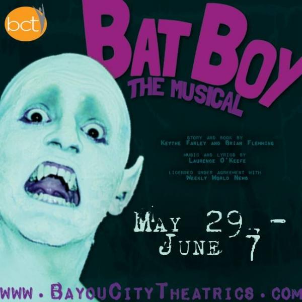BWW Reviews: Bayou City Theatrics' BAT BOY: THE MUSICAL is Amusing Fun