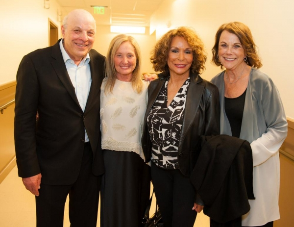 Backstage with Charles Fox, Jan Crosby, Freda Payne and Joan Fox