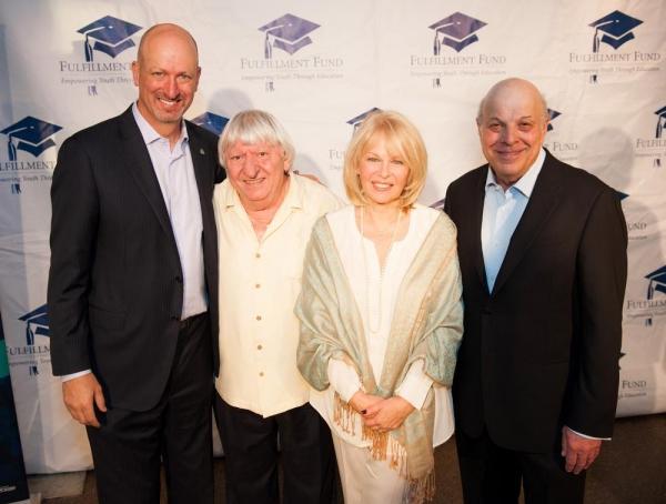 Kenny Rogers, Ben Lanzarone, Ilene Graff and Charles Fox Photo