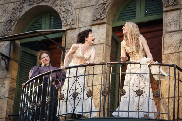 Kathryn Meisle, Ismenia Mendes, and Lily Rabe