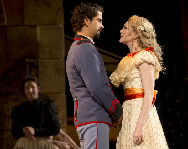Photo Flash: First Look at Lily Rabe, Hamish Linklater, Brian Stokes Mitchell & More in MUCH ADO ABOUT NOTHING in the Park!