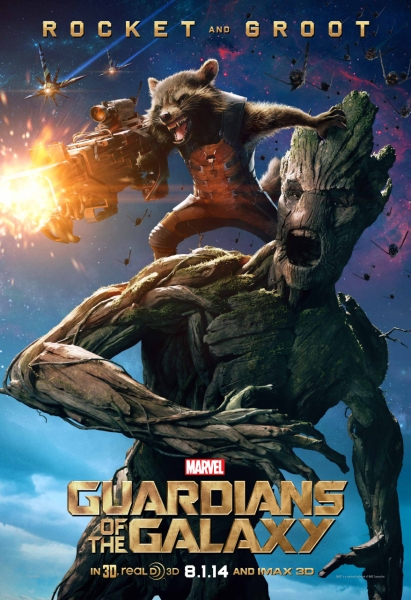 Photo Flash: Rocket Raccoon & Groot Featured in First GUARDIANS OF THE GALAXY Character Poster