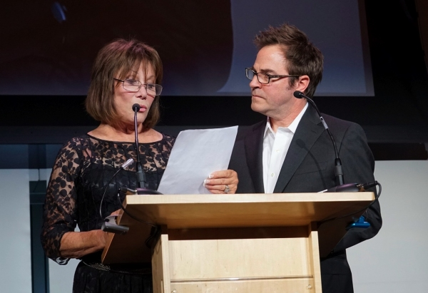 Michele Lee and Roger Bart