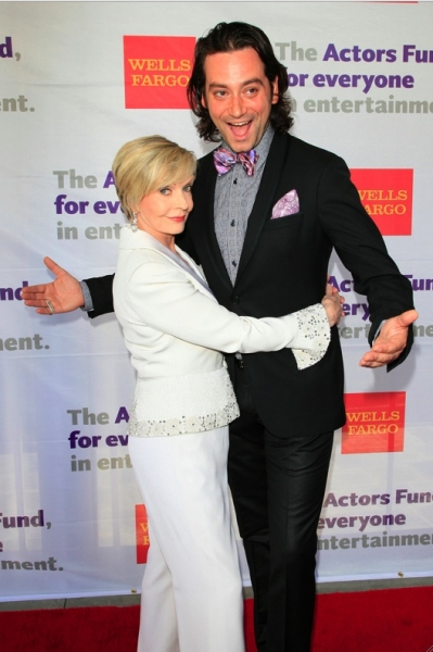Florence Henderson and Constantine Maroulis