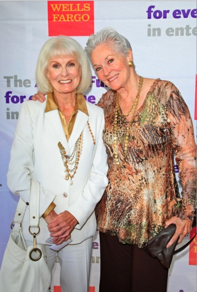 Bridgette Hanley and Lee Meriwether