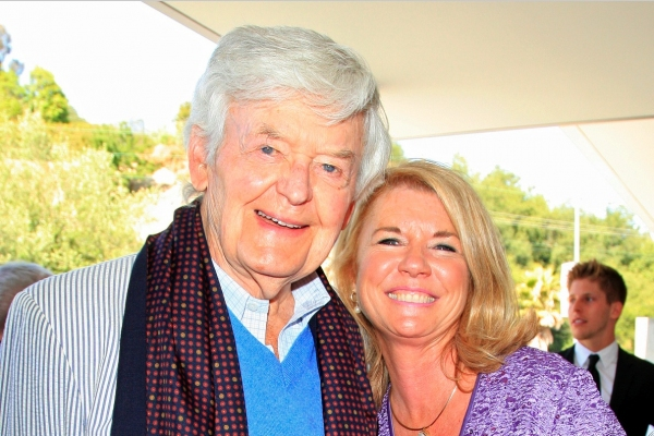 Hal Holbrook and Meg Thomas