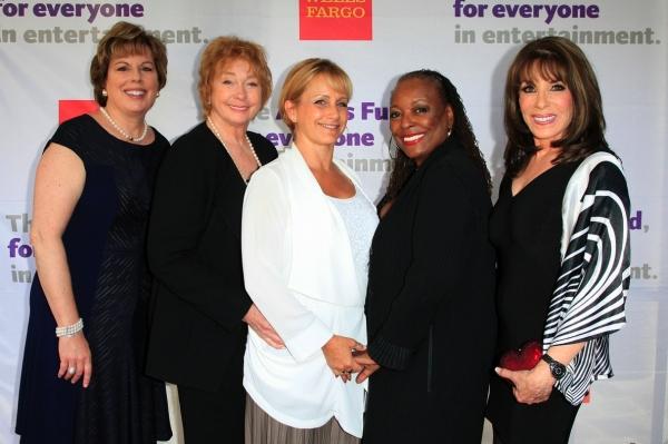 SAG representatives - Ilyanne Morden Kichaven, Jenny O''Hara, Gabrielle Carteris, L. Scott Caldwell and Kate Linder