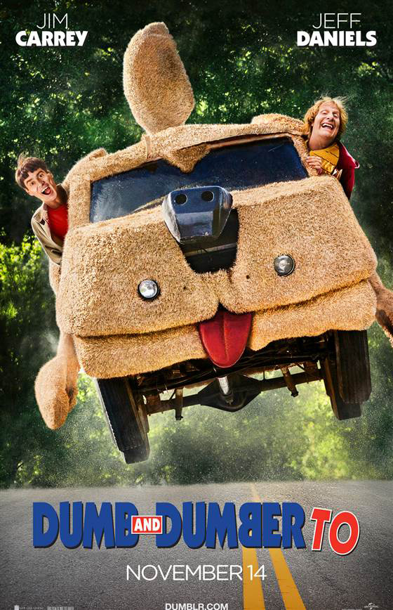 Photo: First Look - New Poster Art for DUMB AND DUMBER TO