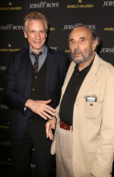 Rick Elice and Stanley Donen  Photo