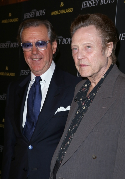 Angelo Galasso and Christopher Walken  Photo