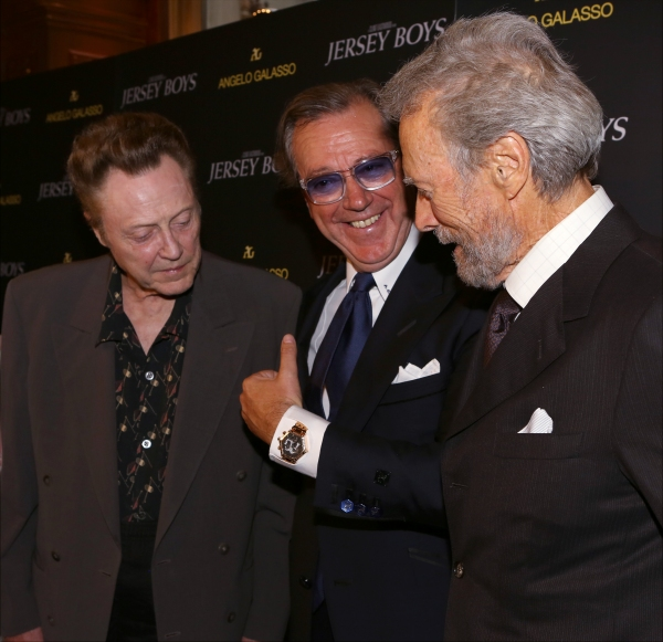 Christopher Walken, Angelo Galasso and Clint Eastwood