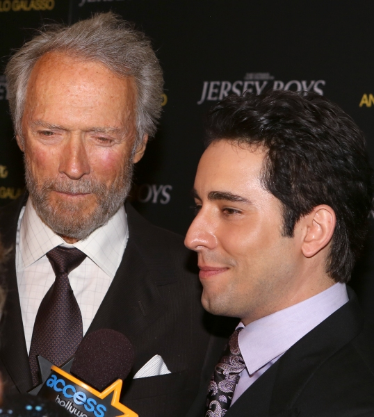 Clint Eastwood and John Lloyd Young