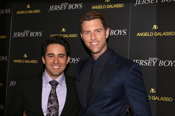 John Lloyd Young and Michael Lomenda
