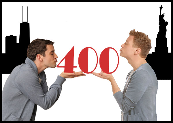 Barrett Foa-Led BUYER & CELLAR Celebrates Week of 400s!