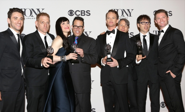 Photo Coverage: Inside the 2014 Tony Awards Winners' Circle - The Men