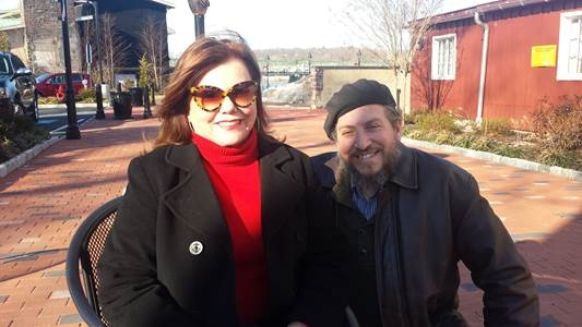Marsha Mason and David Leopold