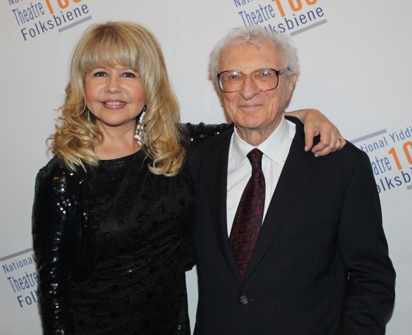 Pia Zadora and Sheldon Harnick
