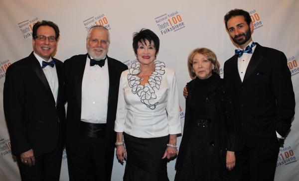 Gary John La Rosa, Zalmen Mlotek, Chita Rivera, Bryna Wasserman and Erik Liberman Photo