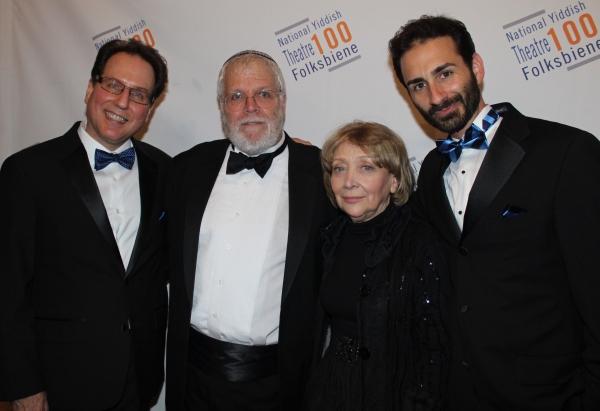 Gary John La Rosa, Zalmen Mlotek, Bryna Wasserman and Erik Liberman
