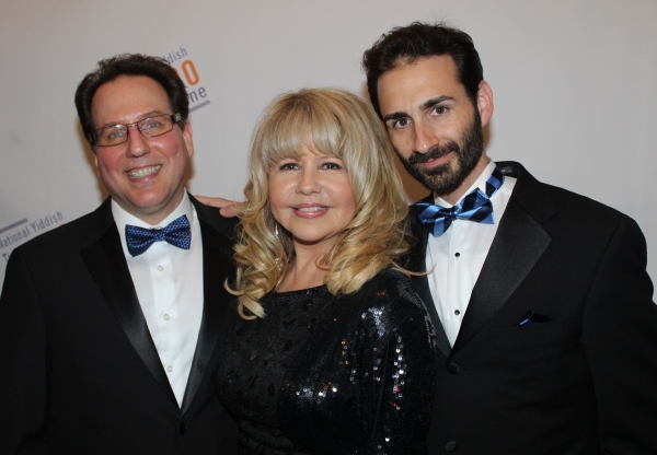 Gary John La Rosa, Pia Zadora and Erik Liberman Photo