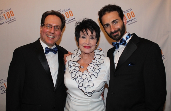 Gary John La Rosa, Chita Rivera and Erik Liberman