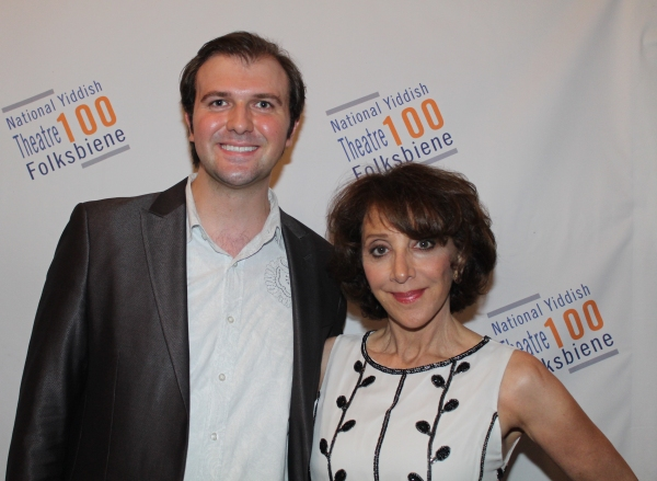 Chris Massimine and Andrea Martin
